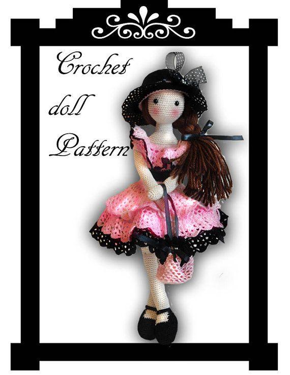 Lacy crochet doll pattern ♥ by chepidolls on Etsy, $13.20