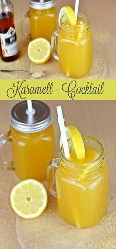 Leckerer alkoholfreier Cocktail mit Karamell http://www.the-inspiring-life.com/2016/05/fruchtiger-cocktail-mit-karamell.html #alcfree #Cocktail