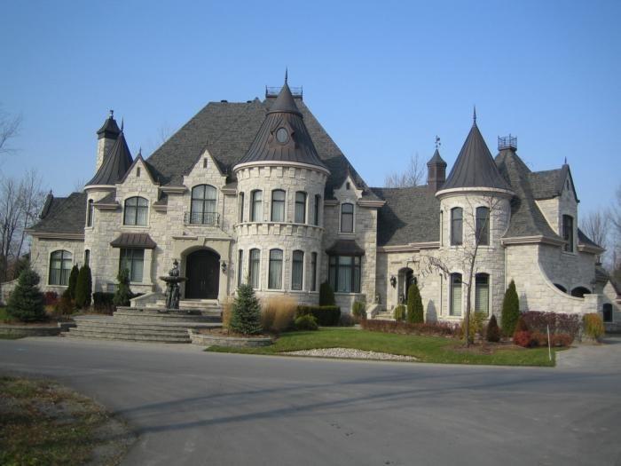 243 best maison de mes reves images on Pinterest   Mansions ...