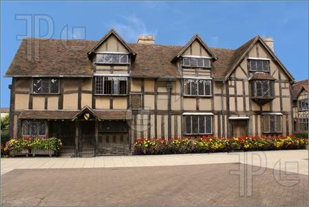 William Shakespeare's Birthplace in Stratford, England - a must visit