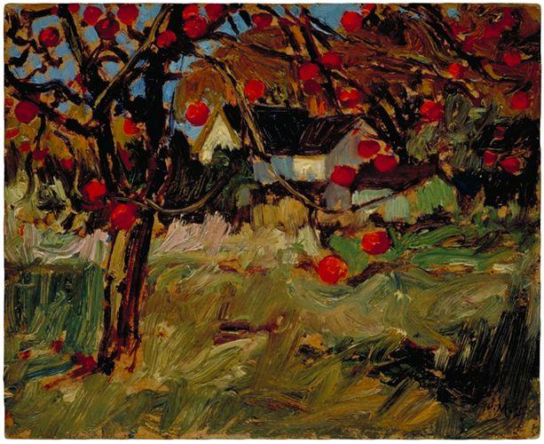 Artist's Home and Orchard, James Edward Hervey MacDonald. English (1873 - 1932)