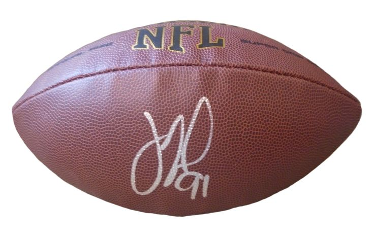 Oakland Raiders Justin Tuck signed NFL Wilson full size football w/ proof photo.  Proof photo of Justin signing will be included with your purchase along with a COA issued from Southwestconnection-Memorabilia, guaranteeing the item to pass authentication services from PSA/DNA or JSA. Free USPS shipping. www.AutographedwithProof.com is your one stop for autographed collectibles from Oakland sports teams. Check back with us often, as we are always obtaining new items.