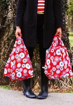 grocery bag sewing pattern / ann kelle