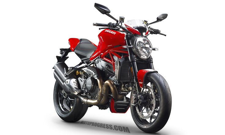 DUCATI Monster 1200 R 2017 fiche technique