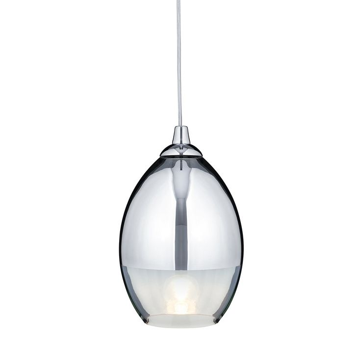 Searchlight 9681cc pendants 1 light ceiling pendant polished chrome