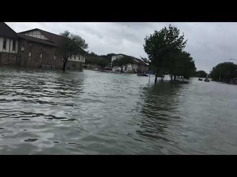 Hurricane Harvey port Arthur Texas. A little irony. - YouTube