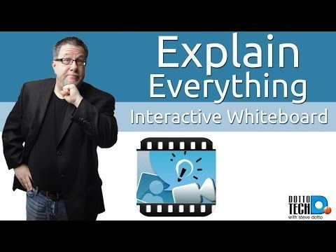 Explain Everything - Whiteboard, Annotation and a Touch of Awesome - YouTube