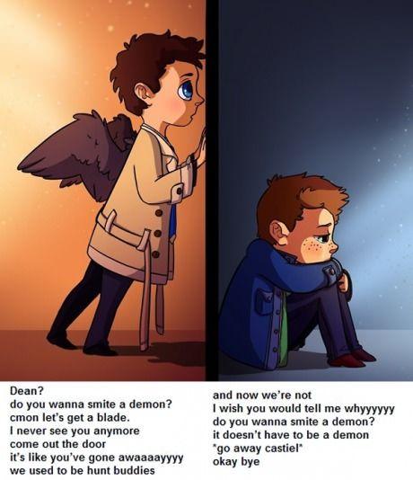 Supernatural met Frozen