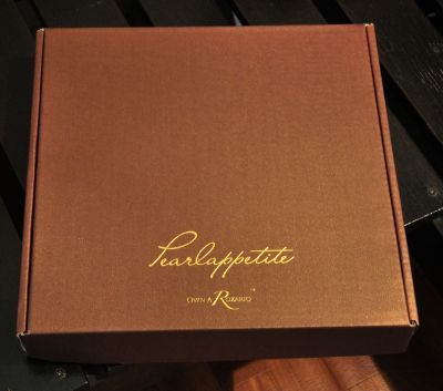 When you purchase Pearlappetite it comes with branded packaging and includes a display stand.