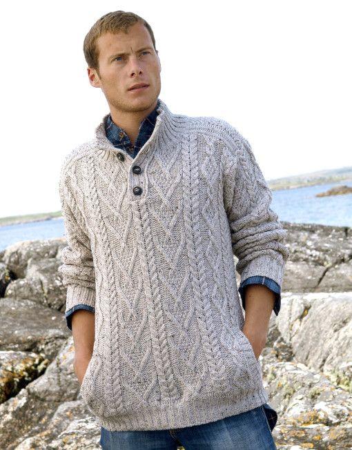 Chunky Aran Sweater