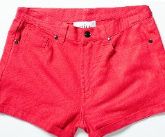 Red Shorts by Alibi at AlibiOnline. As seen in Dec issue of Who.