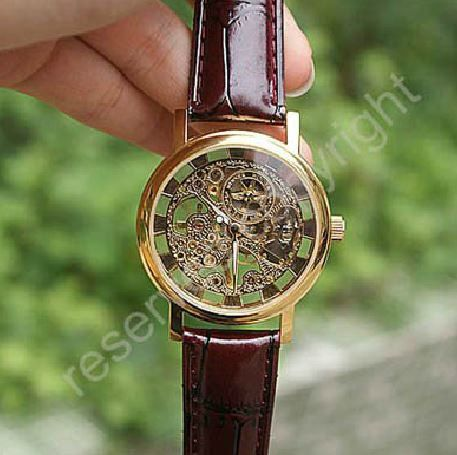 SALE 70 OFF Mens Watch Steampunk Wrist Mechanical by tinycrown, $17.99