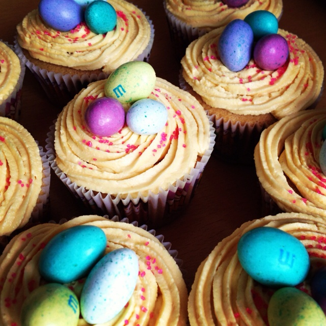 Easter cupcakes | cooking | Pinterest