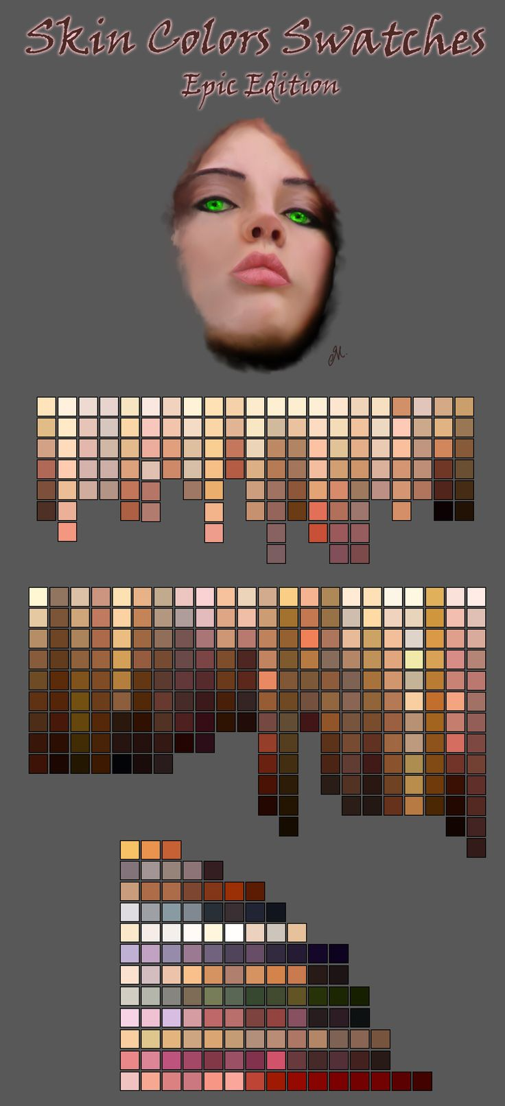 Character Design Digital Painting Tutorial : Best character anatomy skin images on pinterest
