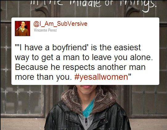 I stopped doing this a few years ago, even though I currently have a boyfriend. Men react to it differently, some are like 'oh, cool' when I say I'm not interested. Others actively ask me 'oh, do you have a boyfriend?' So I've started answering, 'it's not because I have boyfriend.' Some of my them give me this look which says 'bitch', but no one has actually said it yet.