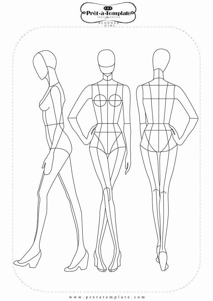 Mannequin Template For Fashion Design Awesome Pin By Tzu Yueh Chen On Fashion Ill Fashion Figure Templates Fashion Illustration Template Fashion Figure Drawing
