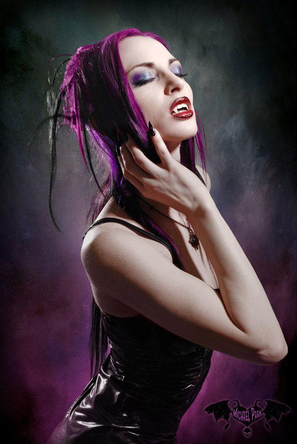 Vampire girls boobs sexy