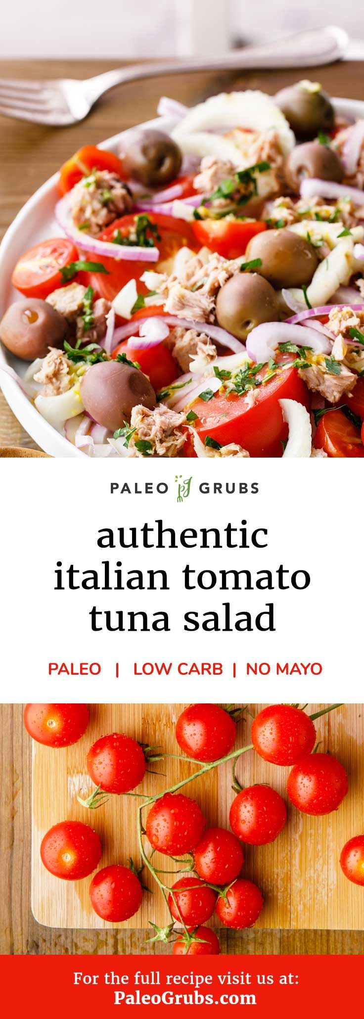 Add this quick and easy tuna salad recipe to your healthy recipe collection! Light, yummy, low carb and satisfying.