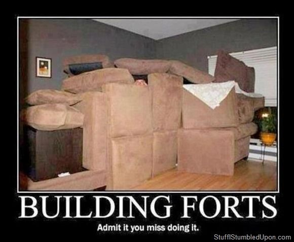 How to Build a Fort Stuff I Stumbled Upon// this may happen during tday break.....?!
