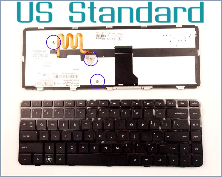 US English Version Keyboard for HP Pavilion DM4 DM4T DM4X DM4-1000 DM4-1100 DM4-2000 DM4-2100 DM4-1164nr Laptop W/Backlit
