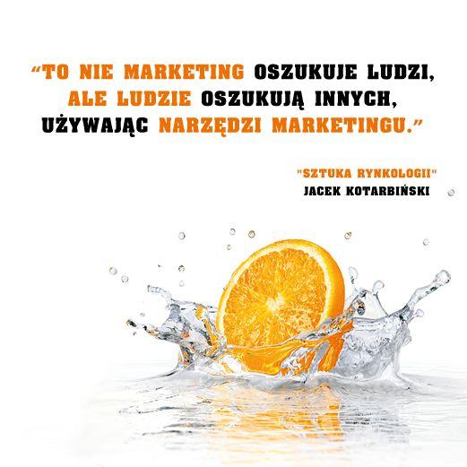 #cytat #kotarbinki #jacekkotarbinski #ksiazka #onepress #biznes #marketing #reklama