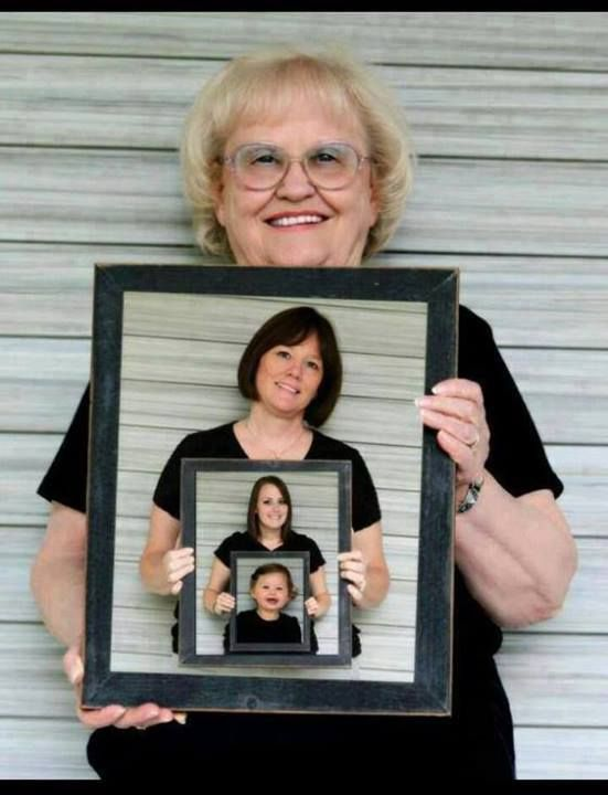 4 generations! Awesome idea !