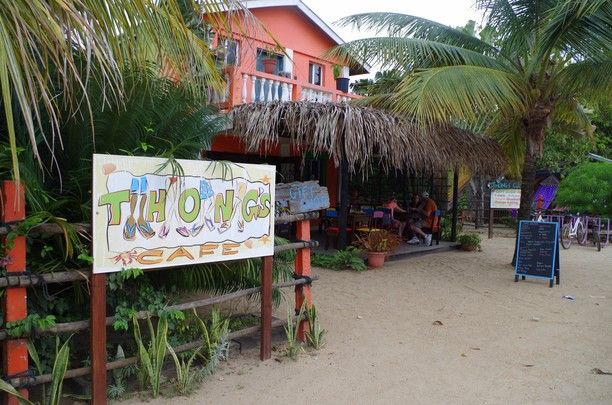 Thongs Cafe, Hopkins, Belize — by TheTravel Spark*. Great food and great vibes at the chill Thongs Café, in Hopkins, Belize.