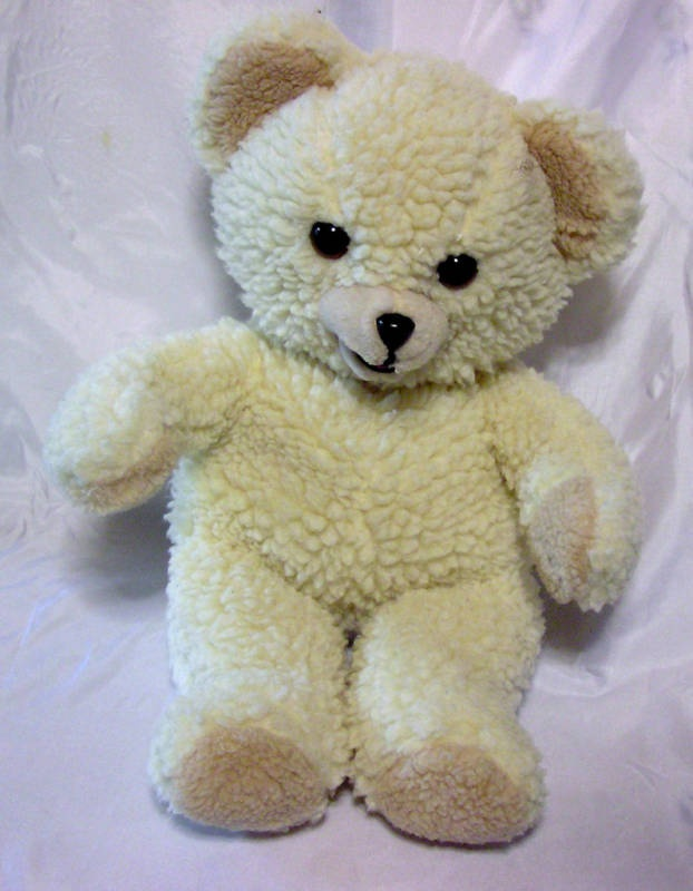 My favorite stuffed animal as a child (although mine hasn't looked this clean since day 1 lol)