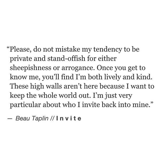 To all the so-called introverts out there. // my books Playing With Fire and The Wild Heart are available via the link on the home page. xo Love Beau