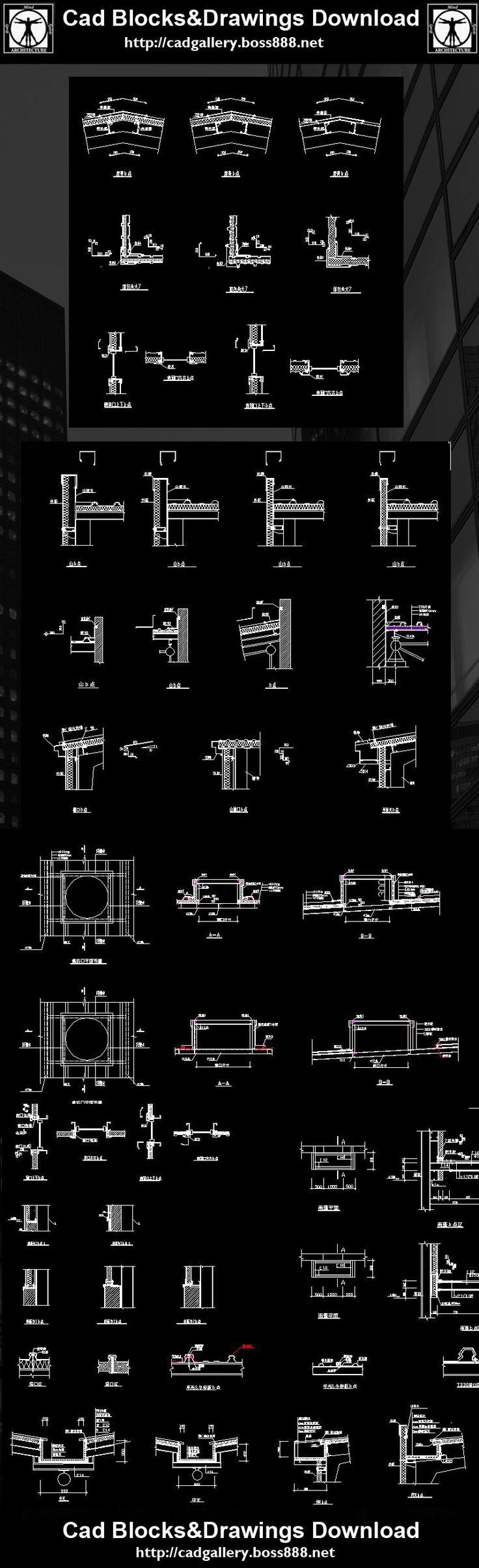 1217 Best Autocad Details Images On Pinterest Cad Blocks Cad