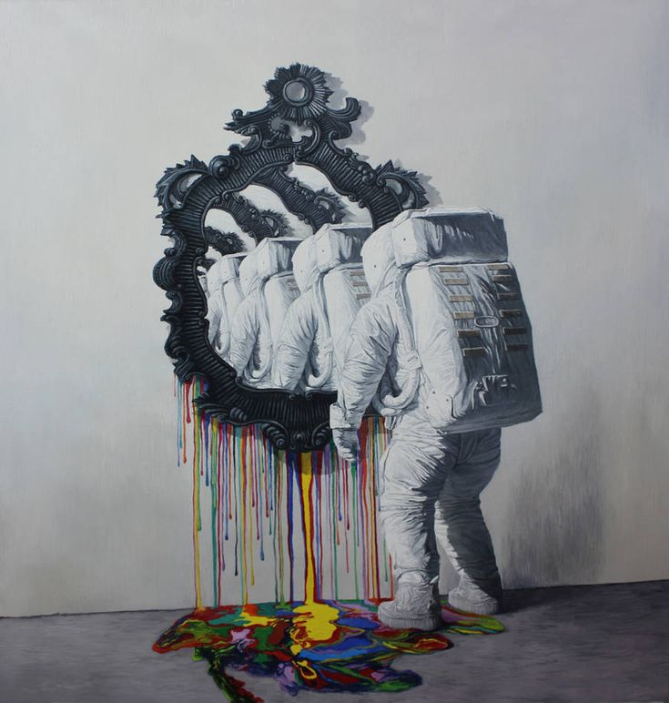 Psychedelic Paintings by Shang Chengxiang – Fubiz Media