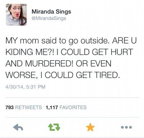 miranda sings, lol. ARE YOU KIDDING ME?!!!??!!?