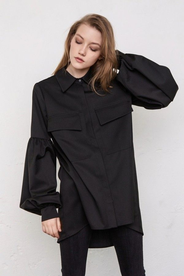38fb33542be new shirt with big sleeves