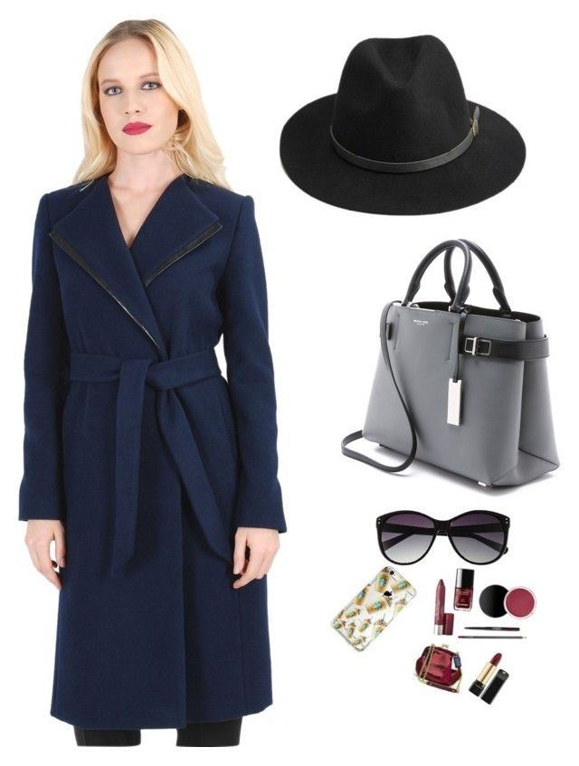JASMINE COAT by YOKKO   A fashion look from November 2015 by yokko-the-fashion-store featuring Michael Kors, Vince Camuto and BeckSöndergaard #yokkoromania #spring2016 #fashion #ss16 #madeinromania #officeoutfit #feminity #coat #elegantcoat #wintercoat