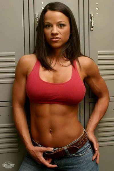 Body building does not make women look like freaks