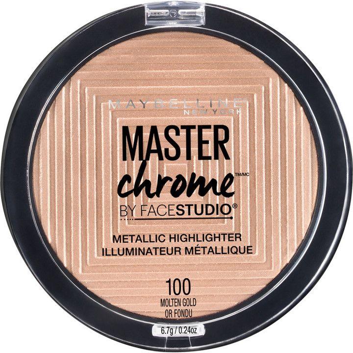 Maybelline FaceStudio Master Chrome Metallic Highlighter, new for summer 2017