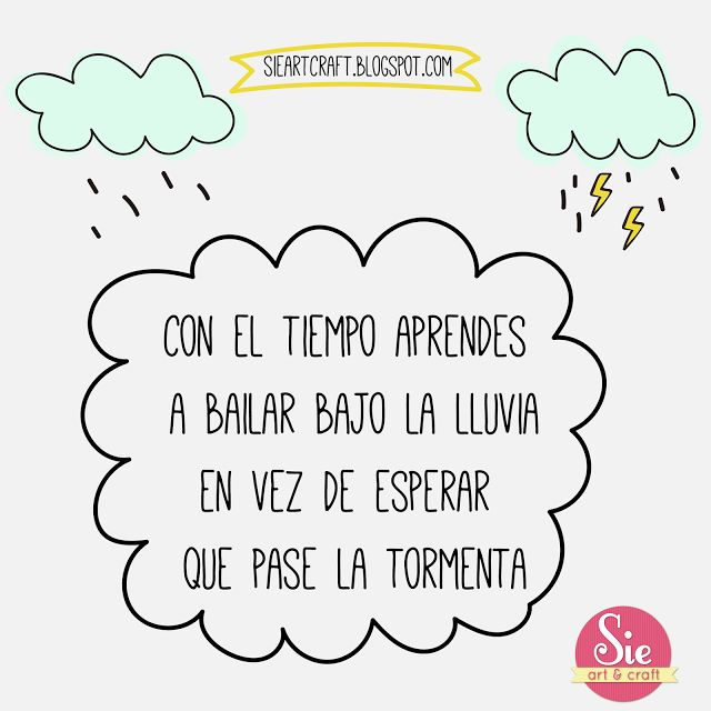 Bailar bajo la lluvia ♥