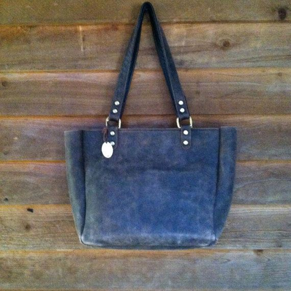 Handmade Leather Tote for Concealed Carry by TwelveSixCompany