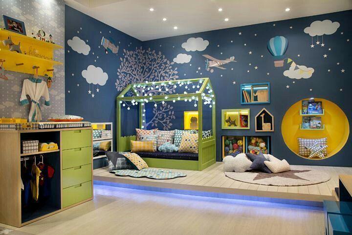 Mais uma vista ;)  quarto com método Montessoriano Via pinterest. #inspiracao #interiordesign #designdeinteriores #home #homedesign #bedroom #quarto #tematico #tomazampinteriores #estilododiatomazamp by tomazamp_interiores http://discoverdmci.com