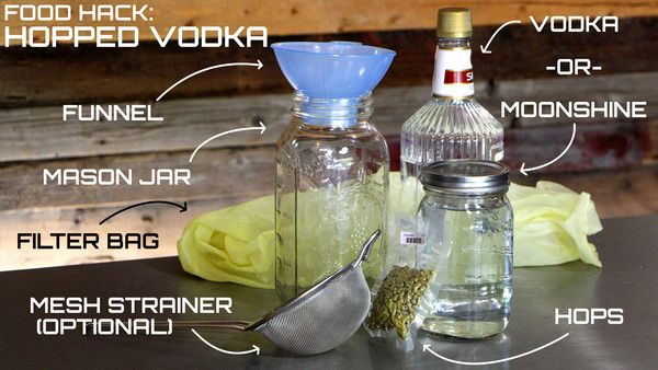 How To Make Hopped Vodka – Copper Moonshine Still Kits - Clawhammer Supply