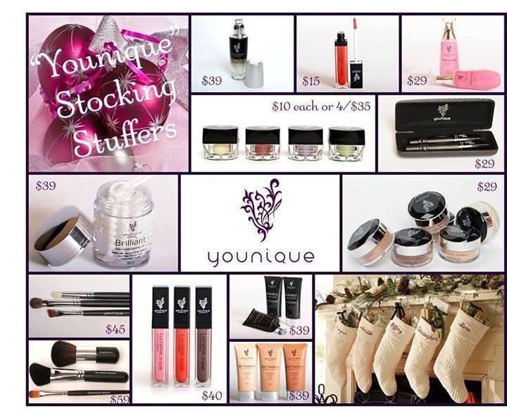 Great Stocking Stuffer Ideas Younique Mineral Make Up