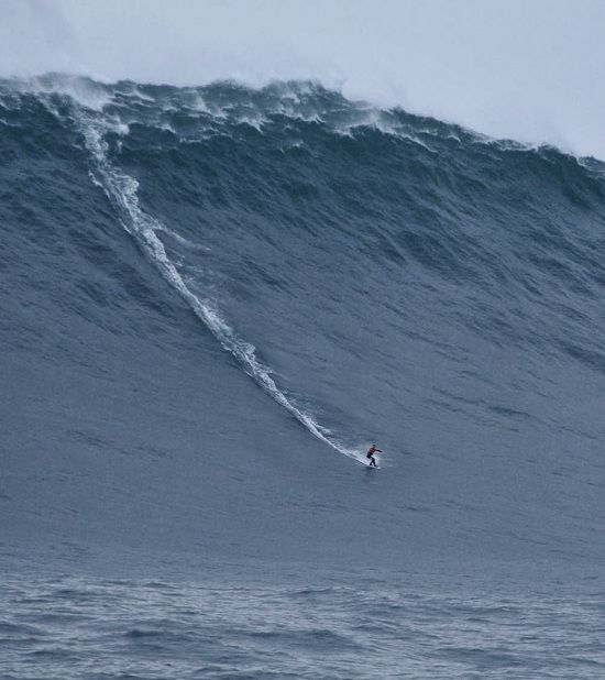 Is that a wave???