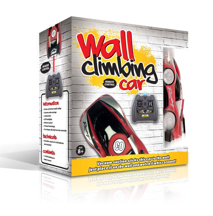 WALL CLIMBING CAR!  Follow the link for more info!