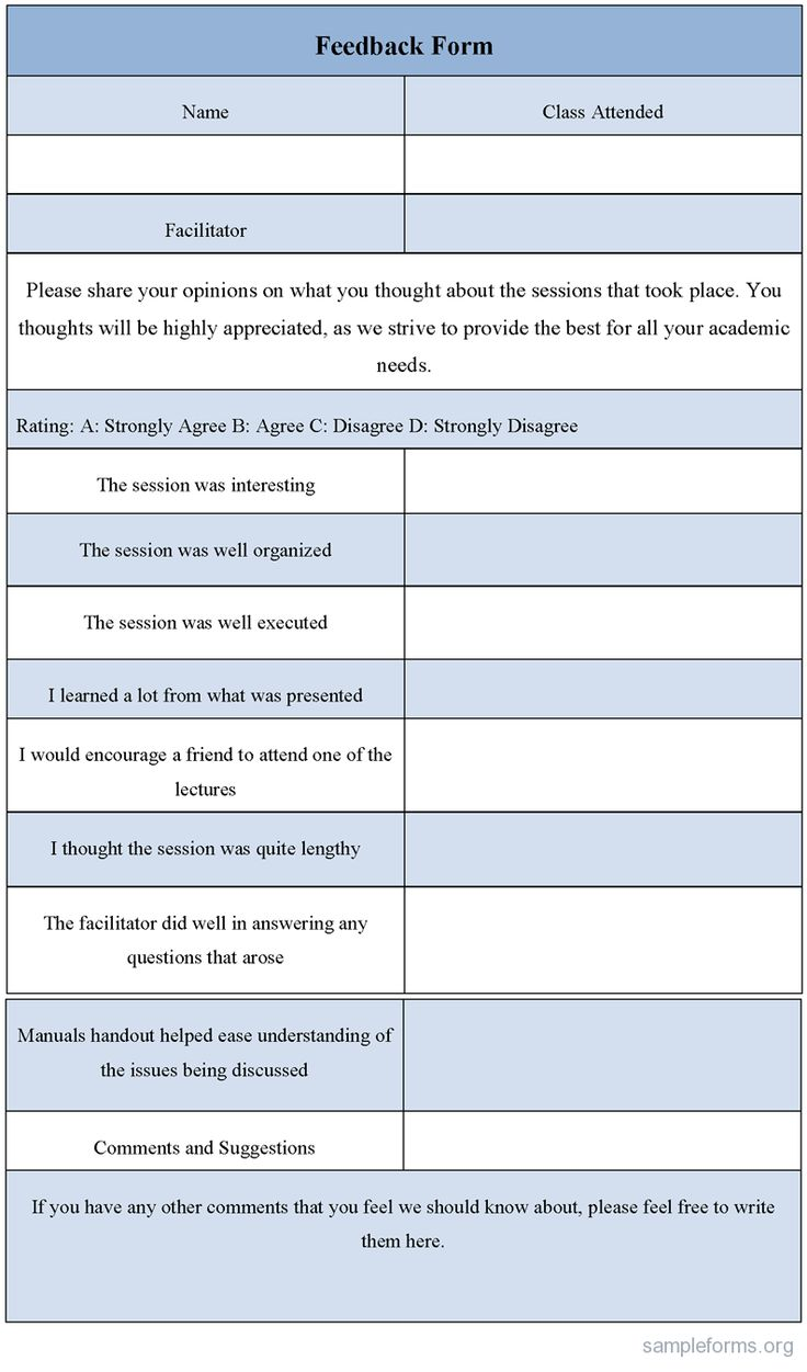 17 Best images about Professional development – Format for Feedback Form