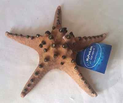 [New] Chocolate Chip Starfish Fish Tank Aquarium ornament Decoration - COR18
