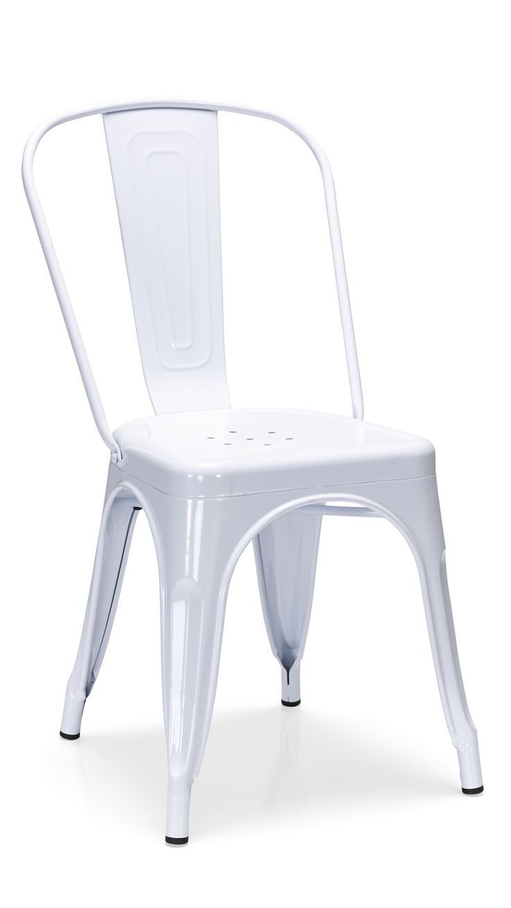 Colombo Steel Chair White
