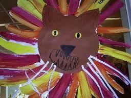 Afbeeldingsresultaat voor leeuwenkop tekening