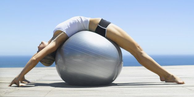 5 Stability Ball Exercises for a Crazy Strong Core