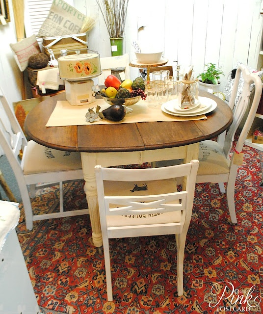 *PinkPostcard.*: Farmhouse Table And Chairs My Dream