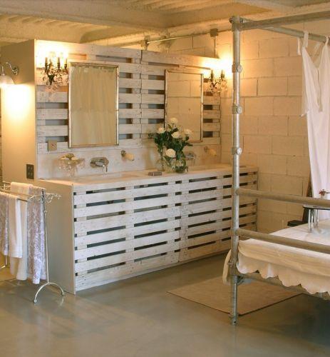 Best Salon De Jardin Palette Deco Contemporary - Amazing House ...